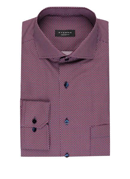 ETERNA Hemd Comfort Fit, Farbe: DUNKELROT/ DUNKELBLAU/ WEISS (Bild 1)