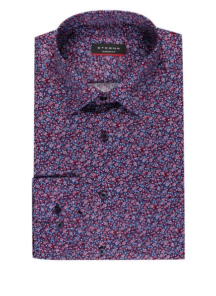 ETERNA Hemd Modern Fit, Farbe: BLAU/ HELLBLAU/ ROT (Bild 1)