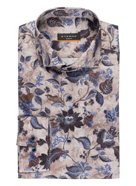 ETERNA Hemd Slim Fit, Farbe: GRAU/ DUNKELBLAU (Bild 1)