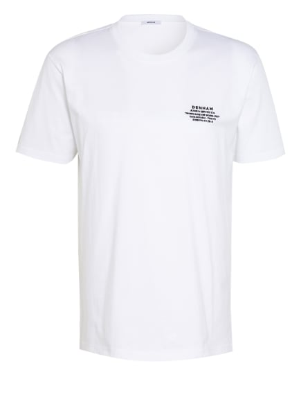 DENHAM T-Shirt, Farbe: WEISS/ SCHWARZ (Bild 1)