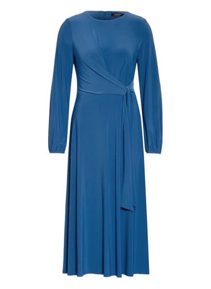 LAUREN RALPH LAUREN Jerseykleid , Farbe: BLAU (Bild 1)