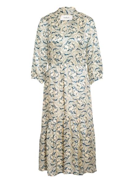 ba&sh Kleid SONG, Farbe: HELLGELB/ TÜRKIS (Bild 1)