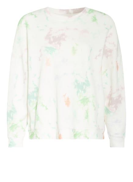 WHISTLES Sweatshirt, Farbe: WEISS/ GRÜN (Bild 1)