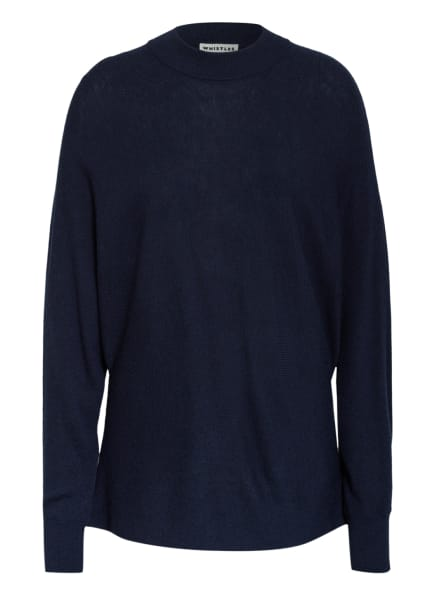 WHISTLES Pullover, Farbe: DUNKELBLAU (Bild 1)