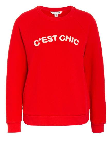 WHISTLES Sweatshirt, Farbe: ROT (Bild 1)