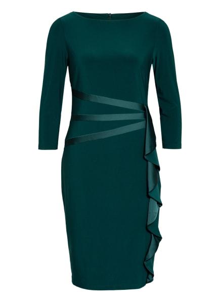 Joseph Ribkoff Kleid mit 3/4-Arm und Volantbesatz, Farbe: GRÜN (Bild 1)