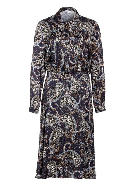 seidensticker Kleid, Farbe: DUNKELBLAU/ COGNAC/ WEISS (Bild 1)