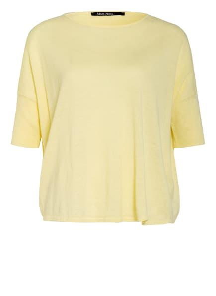 MARC AUREL Strickshirt mit Leinen, Farbe: GELB (Bild 1)