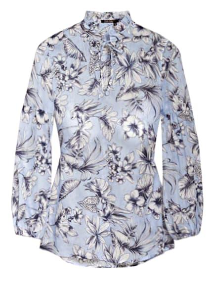 MARC AUREL Blusenshirt, Farbe: HELLBLAU/ WEISS/ DUNKELBLAU (Bild 1)