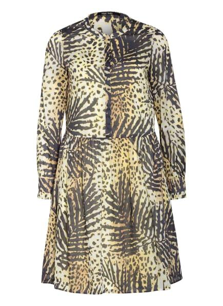 MARC AUREL Kleid, Farbe: DUNKELGRAU/ GELB (Bild 1)