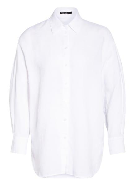 MARC AUREL Hemdbluse aus Leinen, Farbe: WEISS (Bild 1)