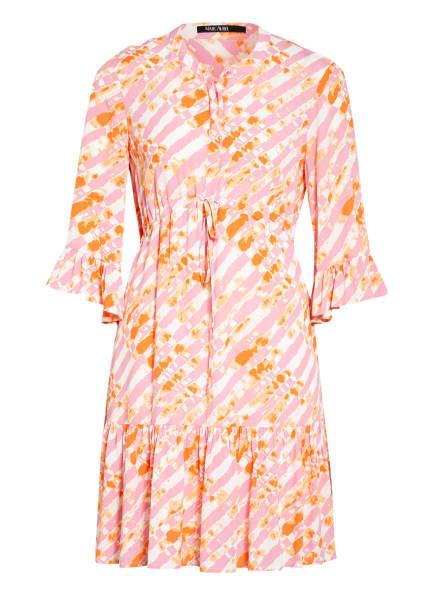 MARC AUREL Kleid mit 3/4-Arm, Farbe: ORANGE/ ROSA/ ECRU (Bild 1)