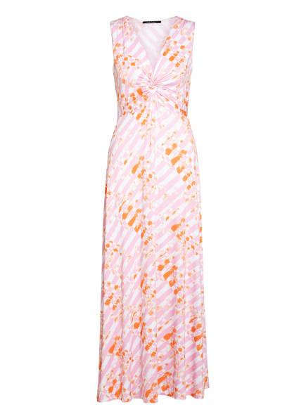 MARC AUREL Jerseykleid, Farbe: WEISS/ ORANGE (Bild 1)
