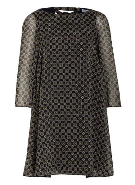 CLAUDIE PIERLOT Kleid RIFIFI, Farbe: DUNKELBLAU/ BRAUN (Bild 1)