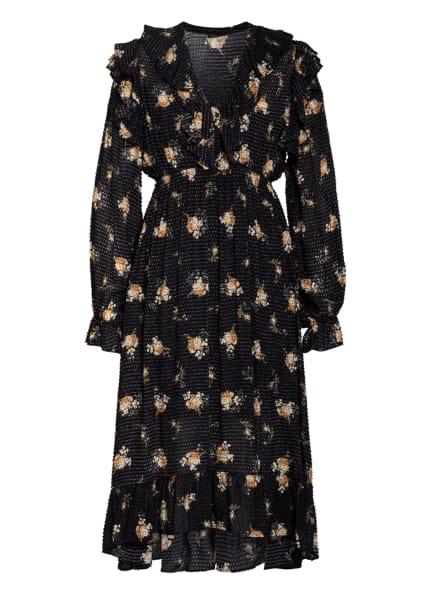 maje Kleid RIDER, Farbe: SCHWARZ/ CREME/ BEIGE (Bild 1)