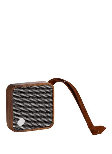 gingko Bluetooth-Lautsprecher MI SQUARE, Farbe: BRAUN (Bild 1)