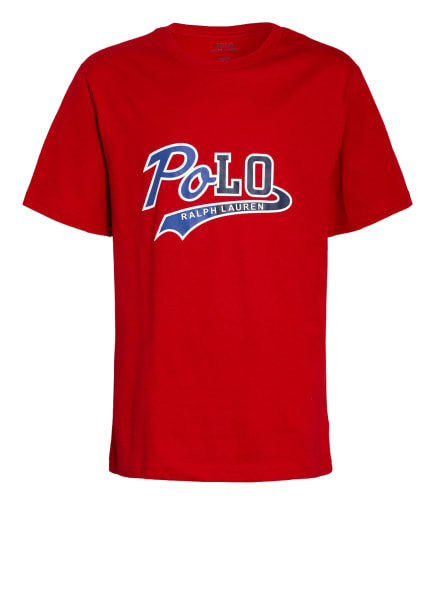 POLO RALPH LAUREN T-Shirt , Farbe: ROT (Bild 1)