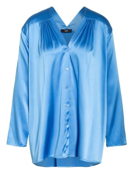 STEFFEN SCHRAUT Blusenshirt aus Seide, Farbe: BLAU (Bild 1)