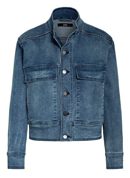 STEFFEN SCHRAUT Jeansjacke mit Metallperlenbesatz, Farbe: BLAU (Bild 1)
