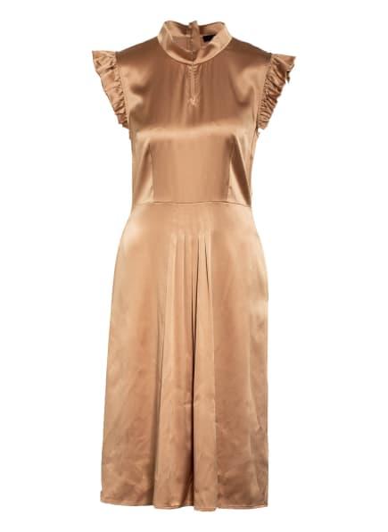 STEFFEN SCHRAUT Kleid mit Rüschenbesatz, Farbe: CAMEL (Bild 1)