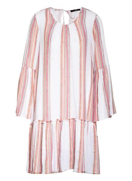 STEFFEN SCHRAUT Kleid mit Leinen , Farbe: ECRU/ PINK (Bild 1)