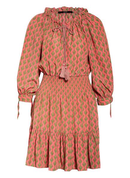 STEFFEN SCHRAUT Kleid mit Rüschenbesatz, Farbe: HELLROT/ HELLGRÜN (Bild 1)