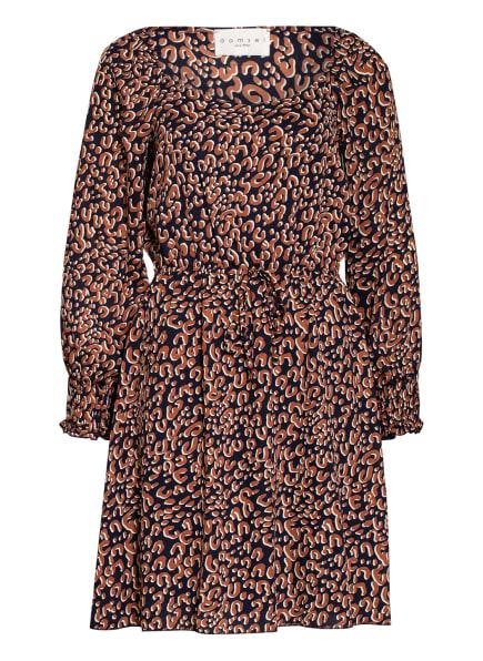damsel in a dress Kleid TABI, Farbe: COGNAC/ ECRU/ DUNKELBLAU (Bild 1)