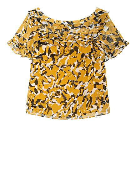 damsel in a dress Blusenshirt CONSTA, Farbe: DUNKELGELB/ SCHWARZ/ WEISS (Bild 1)