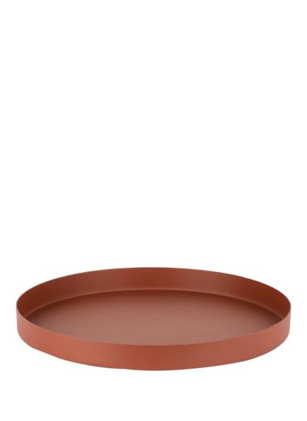 blomus Tablett REO MEDIUM, Farbe: COGNAC (Bild 1)