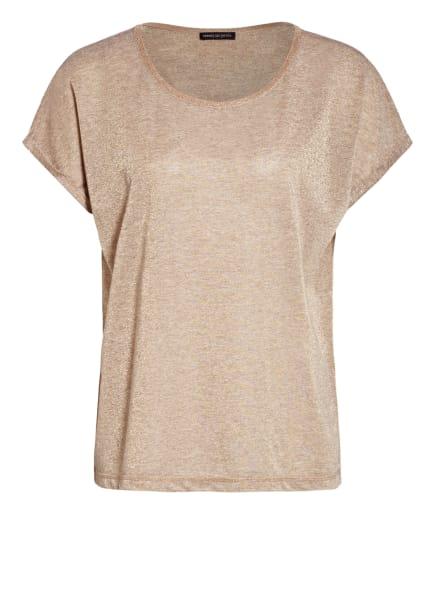 twenty six peers T-Shirt mit Glitzergarn, Farbe: BEIGE (Bild 1)