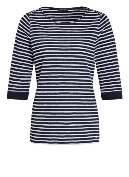 twenty six peers Shirt mit 3/4-Arm, Farbe: DUNKELBLAU/ WEISS (Bild 1)