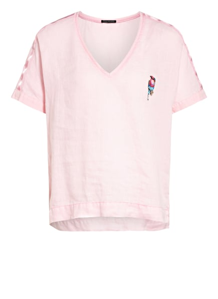 twenty six peers T-Shirt aus Leinen, Farbe: ROSA (Bild 1)