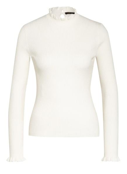 maje Pullover MAULLYA mit Volantbesatz, Farbe: ECRU (Bild 1)