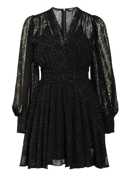 maje Kleid RASERE mit Glitzergarn , Farbe: SCHWARZ/ GOLD (Bild 1)