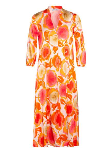 LOUIS and MIA Kleid mit 3/4-Arm, Farbe: ORANGE/ HELLROSA (Bild 1)
