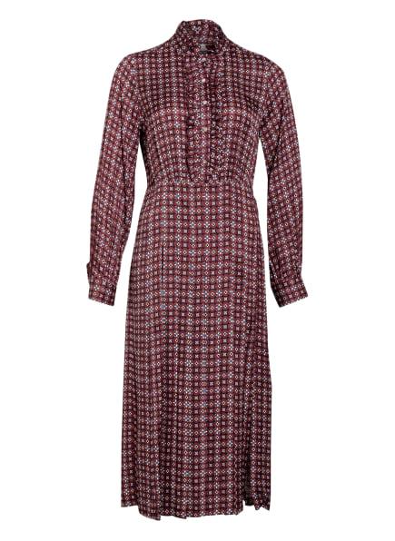 sandro Kleid , Farbe: DUNKELROT/ ROSA/ WEISS (Bild 1)