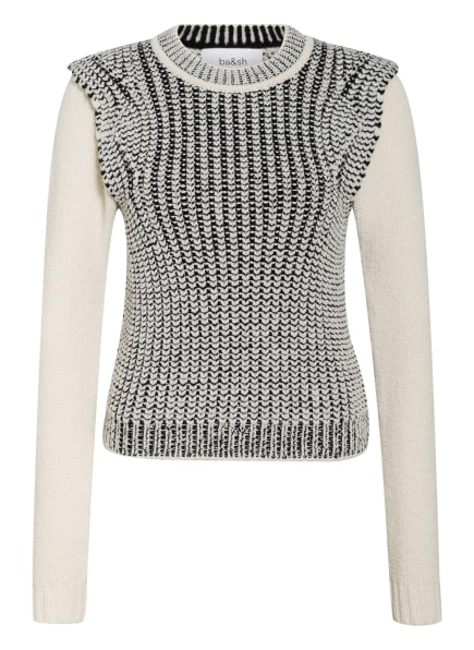 ba&sh Pullover, Farbe: ECRU/ SCHWARZ (Bild 1)