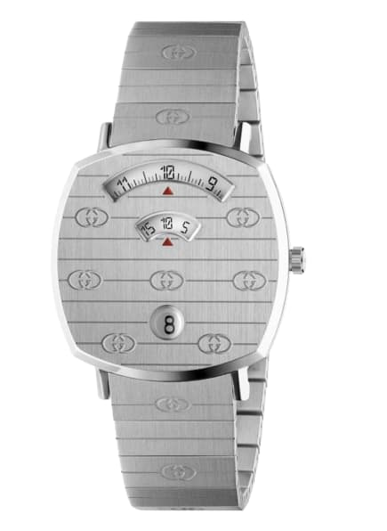 GUCCI Armbanduhr GRIP, Farbe: SILBER (Bild 1)