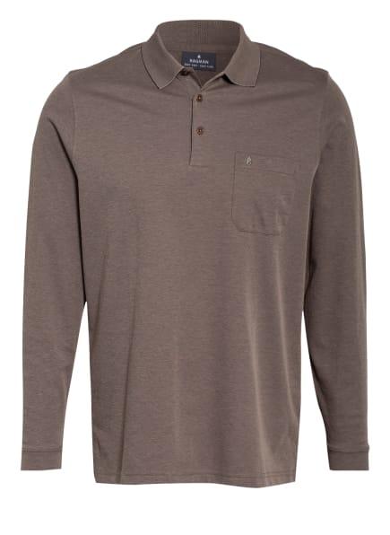 RAGMAN Piqué-Poloshirt , Farbe: TAUPE (Bild 1)