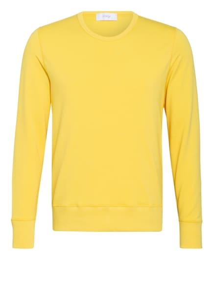 mey Lounge-Sweatshirt Serie ENJOY, Farbe: GELB (Bild 1)