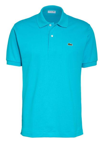 LACOSTE Piqué-Poloshirt Classic Fit, Farbe: TÜRKIS (Bild 1)