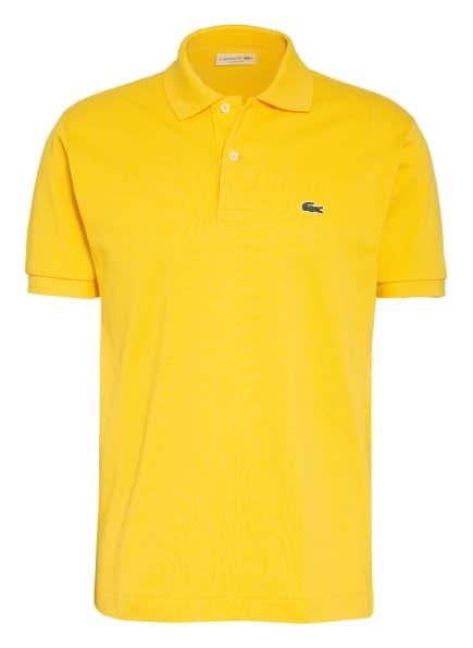 LACOSTE Piqué-Poloshirt Classic Fit, Farbe: GELB (Bild 1)
