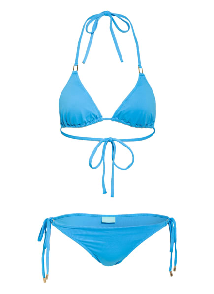 MELISSA ODABASH Triangel-Bikini CANCUN, Farbe: BLAU (Bild 1)
