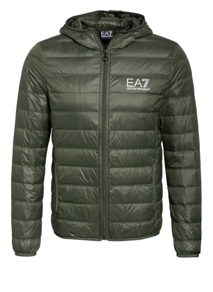 EA7 EMPORIO ARMANI Lightweight-Daunenjacke , Farbe: OLIV (Bild 1)