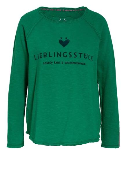 LIEBLINGSSTÜCK Sweatshirt CATHRINA, Farbe: GRÜN (Bild 1)
