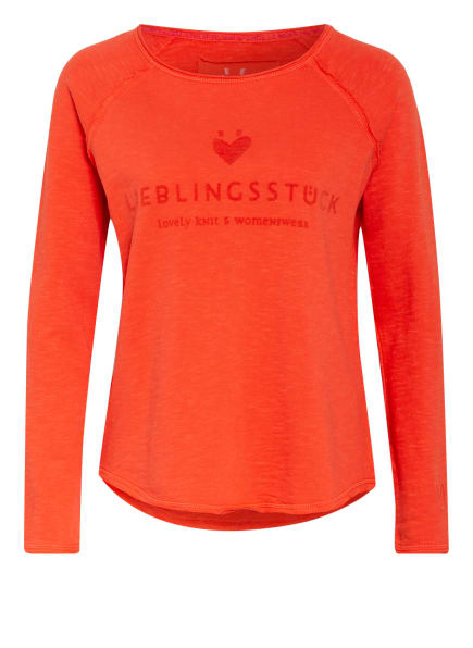 LIEBLINGSSTÜCK Sweatshirt CATHRINA, Farbe: DUNKELORANGE (Bild 1)