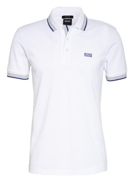 BOSS Piqué-Poloshirt PADDY Regular Fit, Farbe: WEISS (Bild 1)