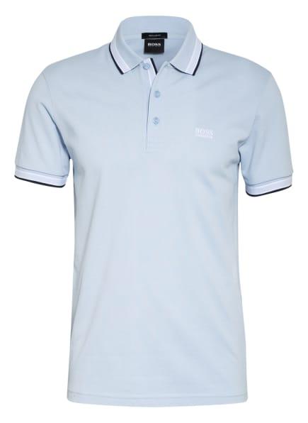 BOSS Piqué-Poloshirt PADDY Regular Fit, Farbe: HELLBLAU (Bild 1)