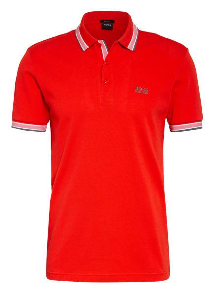 BOSS Piqué-Poloshirt PADDY Regular Fit, Farbe: ROT (Bild 1)