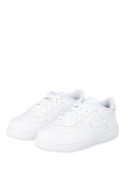 Nike Sneaker NIKE FORCE 1 , Farbe: 117 WHITE/WHITE-WHITE (Bild 1)